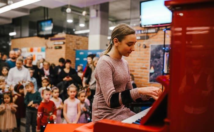 »Музыкальную школу »EGO Lecta / Glasbena šola EGO Lecta tudi v ruskem jeziku