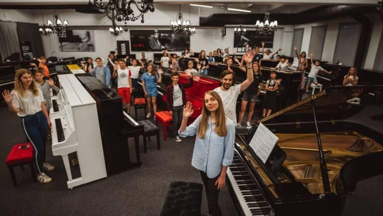 Klavirski projekt glasbene šole EGO Lecta, kot ga še ni bilo